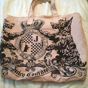 Large Juicy Couture Tote Bag